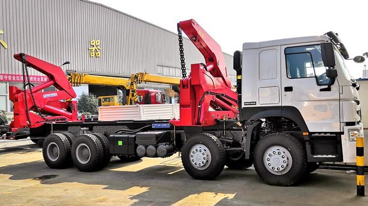 Camión elevador lateral de 20 pies a la venta en Guinea Conakry Camión contenedor de envío XCMG