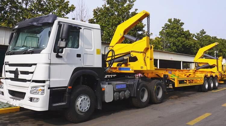 Remolque de carga lateral para contenedores de 3 ejes a la venta en Camerún