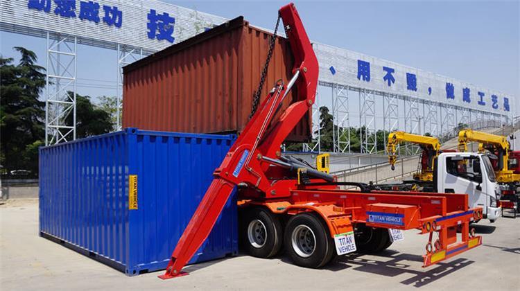 Cargador lateral para contenedores 37T a la venta en Zambia Copperbelt