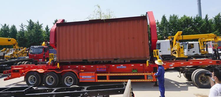 Remolque contenedor de carga lateral de 37 toneladas