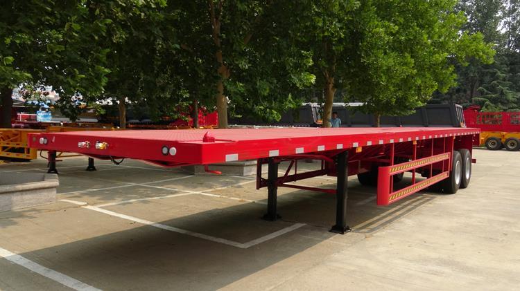 Remolque de plataforma plana de 2 ejes a la venta en Malí - Vehículo TITAN