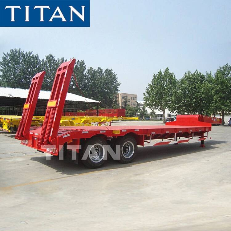 Low Loader Trailer 2 Axle 40 Ton