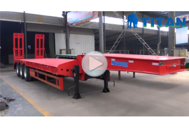 Multiple types of lowbed trailer