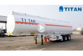 3 axle storage tanker trailer