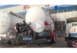 Trailer tangki semen untuk pengiriman