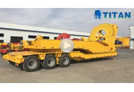 Windmill Blade Tower Transport Trailer