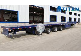 4 Axle 60m Blade Transportation Trailer
