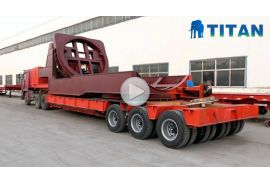 Wind Turbine Blade Transport Trailer